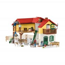 Bauernhaus mit Stall und...